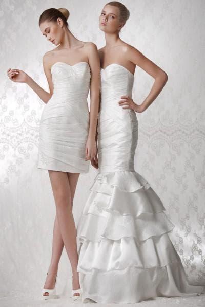 свадебного платья рыбка трансформер