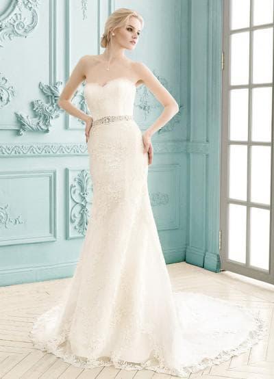 свадебного платья рыбка со шлейфом от Никита