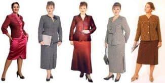 модели платьев для женщин 50 лет