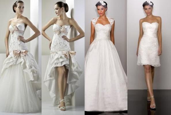 свадебное платье трансформер с отстегивающейся юбкой