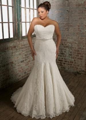 свадебное платье в форме яблока