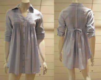 фасон платья рубашки