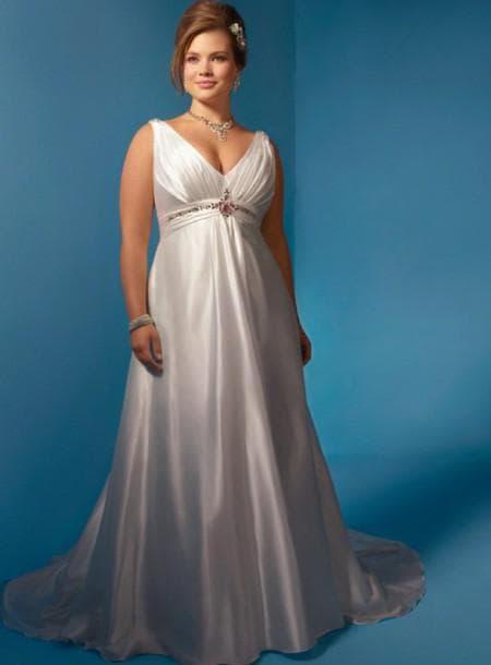 платье Ампир для полных
