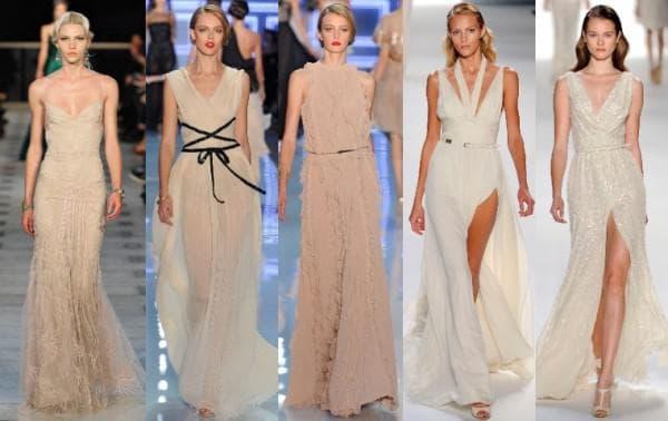 ассиметричное платье от YolanCris