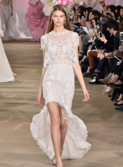 ассиметричное платье от Ines Di Santo