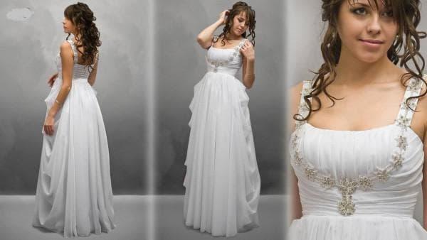 платье для беременных на свадьбу