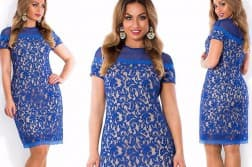 трикотажные платья больших размеров