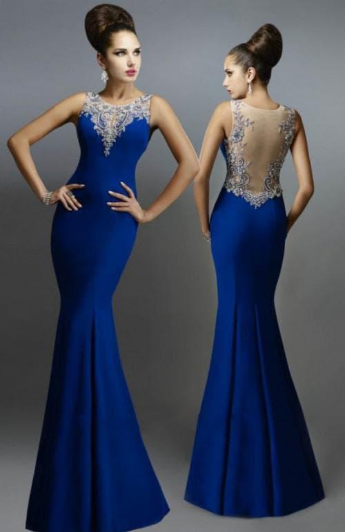 вечерние летние платья на свадьбу «русалочка»