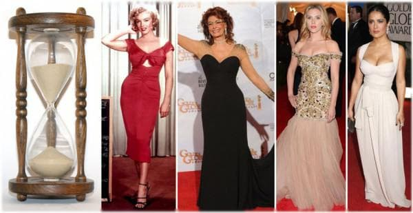 вечерние платья для женщин 50 лет песочные часы