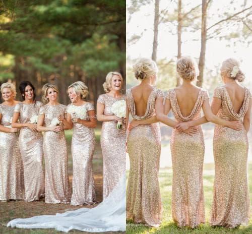 наряды для подружек невесты русалка