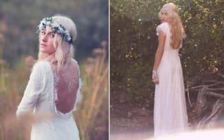 свадебные платья в стиле бохо для дам