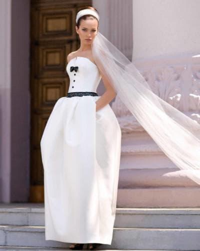 нестандартные платья на свадьбу для беременных