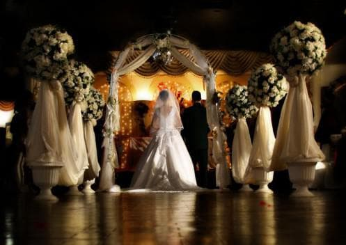 венчание в церкви на свадьбе