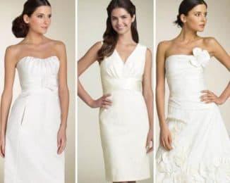 скромное свадебное платье для регистрации