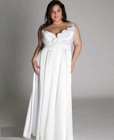 вечерние платья больших размеров Ампир