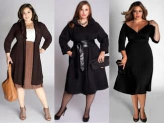 фасоны платьев на полных женщин с животиком