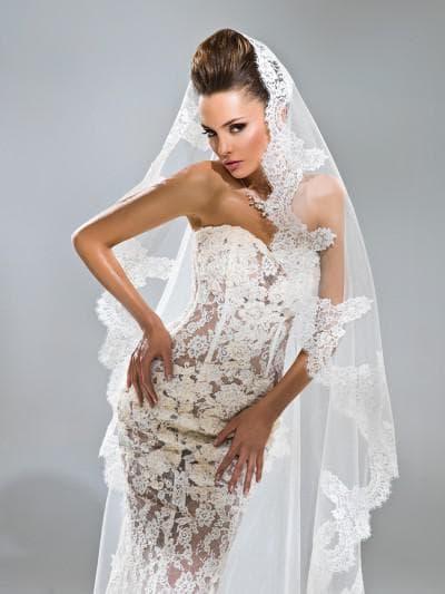 кружевное свадебное платье anna bogdan