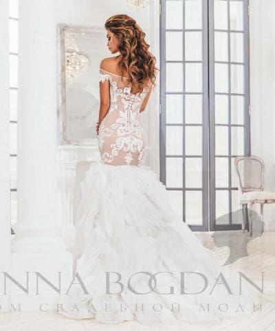 свадебное платье от anna bogdan коллекция Доминика