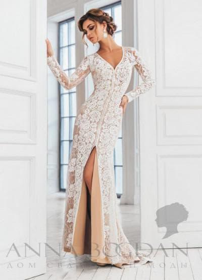свадебное платье от anna bogdan коллекция Челси