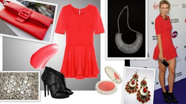 как выбрать красное платье