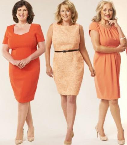 повседневные платья для женщин старше 50 лет