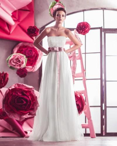 свадебное платье от anna bogdan модель Оливия