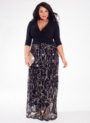 платье большого размера от Igigi