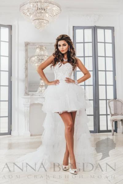 свадебное платье от anna bogdan модель Урсула