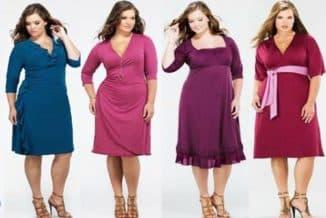 какие модели платьев скрывают живот