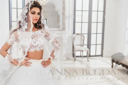 свадебное платье от anna bogdan модель Дженни