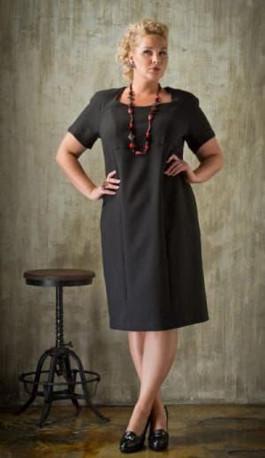 платье большого размера от Eva Collection