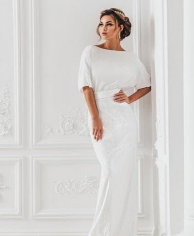 свадебное платье от anna bogdan модель Аврора