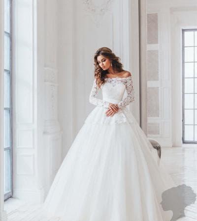свадебное платье от anna bogdan модель Илиана