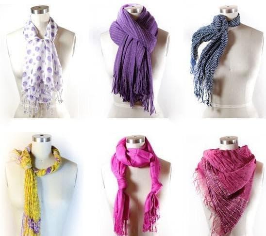 платки и шарфы для летнего платья для офиса