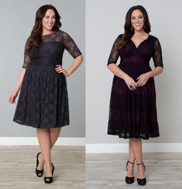 платье с пышной юбкой для женщины за 40