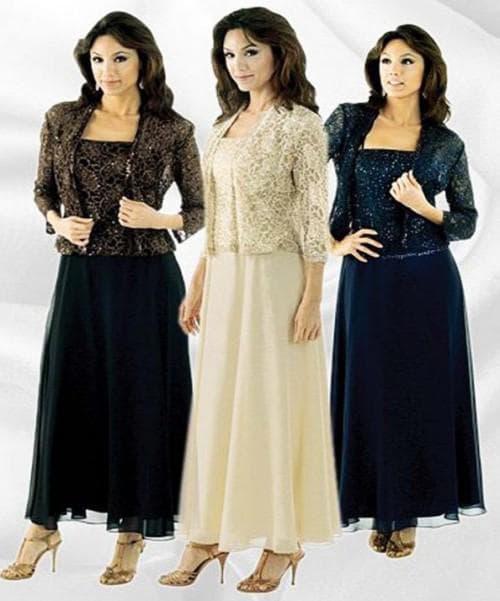 вечернее платье для женщин старше 50 лет
