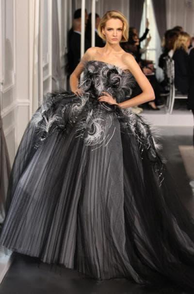 красивое свадебное платье в мире от Кристиан Диор