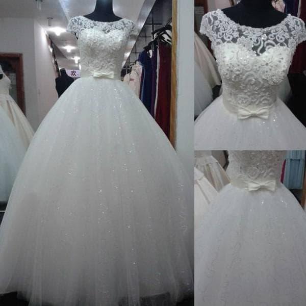 свадебные платья с кружевным верхом на корсете