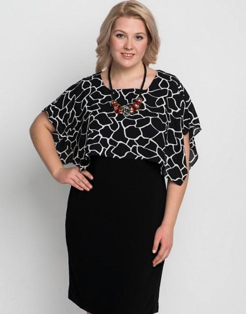 платье больших размеров VERDA