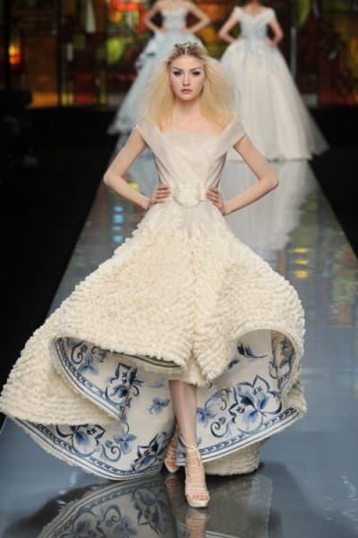 красивое свадебное платье в мире от Кристиан Лакруа