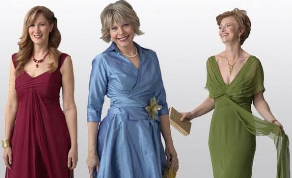 выбор наряда для мамы жениха