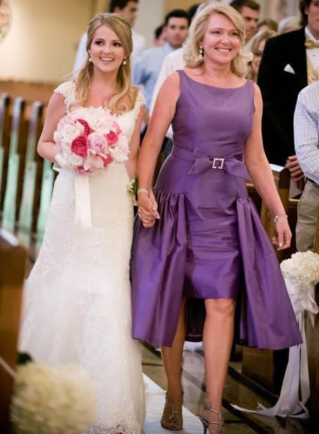 выбор наряда для мамы невесты
