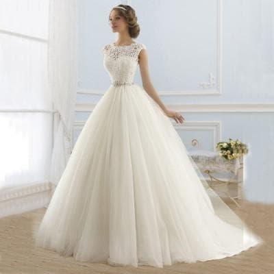 свадебное платье как у принцессы