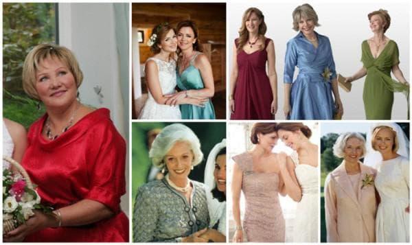 вечерние неяркие платья на свадьбу для мамы жениха