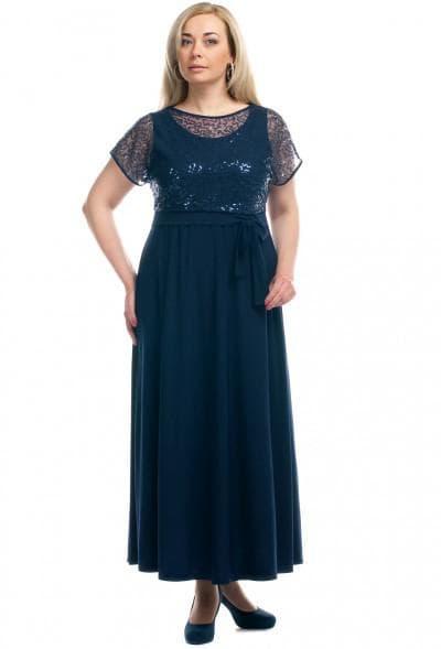 нарядное платье из шёлка на юбилей 50 лет
