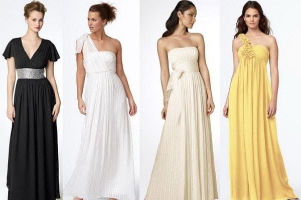 платье греческого стиля для взрослой