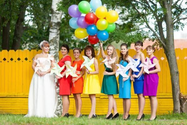 одежда на свадьбу в зависимости от места проведения