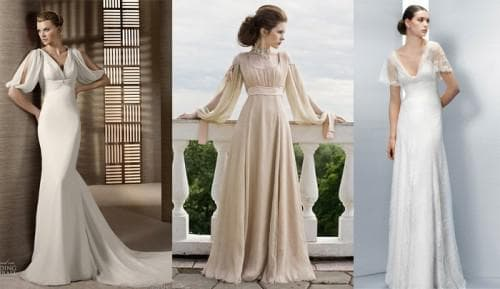 свадебное платье свободного покроя