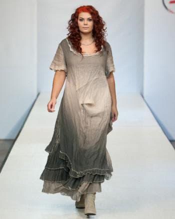 платья из льна для полных от Дизайн Мери