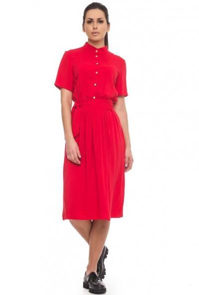 платья рубашка для фигуры прямоугольник